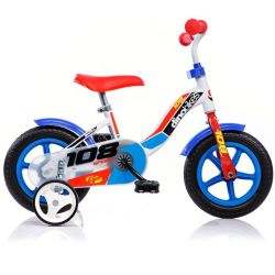 "DINO Bikes - Detský bicykel 10"" 108LB - modrý 2017"