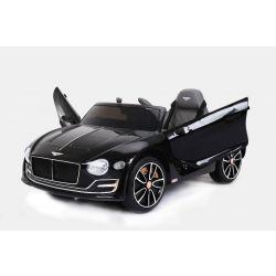 Elektrické autíčko Bentley EXP 12 Prototyp, 12V, 2,4 GHz dialkové ovládanie, otváravé dvere, EVA kolesá, kožené sedadlo, 2 X MOTOR, čierne, ORGINAL licencia