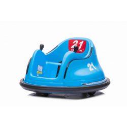 Detské elektrické vozidlo RIRIDRIVE 12V modré, vhodné na vnútorné aj vonkajšie použitie, 2,4 Ghz Diaľkové ovládanie, LED osvetlenie, Ovláadanie Joystickom, 2 X 15W motor