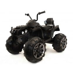 Elektrická štvorkolka HERO 12V, 2,4 GHz DIALKOVÉ OVLÁDANIE, plastové kolesá, odpružené nápravy, plastové sedadlo 12V7Ah batéria