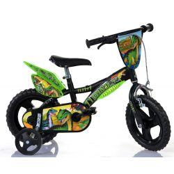 "Zánovný DINO Bikes - Detský bicykel 12"" Dino 612LDS T Rex"