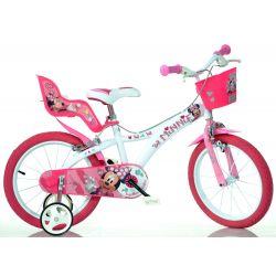"DINO Bikes - Detský bicykel 14"" 614NN - Minnie 2017"