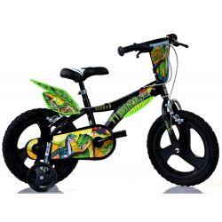 "DINO Bikes - detský bicykel 14""Dino 614LDS T Rex"