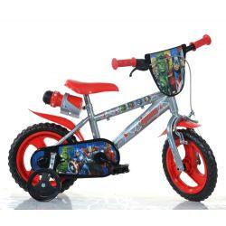 """DINO bikes - Zánovný Detský bicykel 12"""" 412UL2 - Avengers2 2018"""