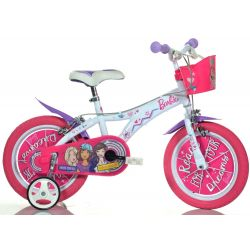 "DINO Bikes - Detský bicykel 14"" 614GBA - Barbie 2018"
