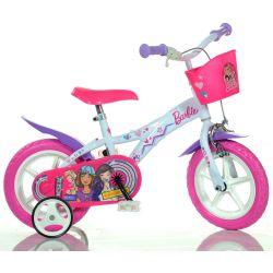 "DINO Bikes - Detský bicykel - 12"" 612GLBA - Barbie 2018"