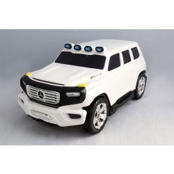 Detské Licencované odrážadlo a kufrík 2v1 Mercedes-Benz  Ener-G-Force biele