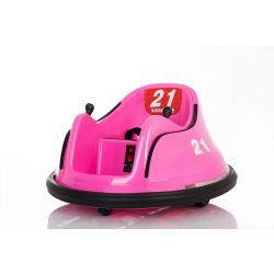 Detské elektrické vozidlo RIRIDRIVE 12V ružové, vhodné na vnútorné aj vonkajšie použitie, 2,4 Ghz Diaľkové ovládanie, LED osvetlenie, Ovláadanie Joystickom, 2 X 15W motor