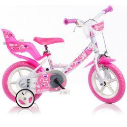 "DINO Bikes - Detský bicykel 12"" 124RLN - biely 2017"