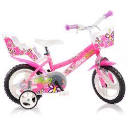 """DINO Bikes - Detský bicykel 12"""" 126RL - ružový 2017"""