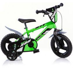"""DINO Bikes - Detský bicykel 12"""" 412UL - zelený 2017"""