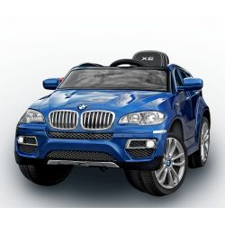 BMW X6 Blue Painted front