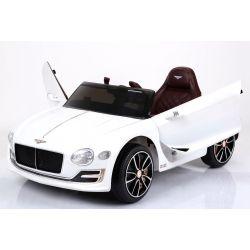 Elektrické autíčko Bentley EXP 12 Prototyp, 12V, 2,4 GHz dialkové ovládanie, otváravé dvere, EVA kolesá, kožené sedadlo, 2 X MOTOR, biele, ORGINAL licencia