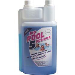 BioPool 5 tekutý prípravok na úpravu bazénovej vody BEZ CHLÓRU