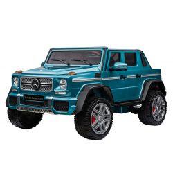 Elektrické autíčko Mercedes-Benz Maybach G650, modré Lakované, LCD obrazovka, Pohon 4x4, 2x 12V7AH, EVA kolesá, Čalúnené sedadlo, 2,4 GHz DO, 4 X MOTOR, Dvojmiestne