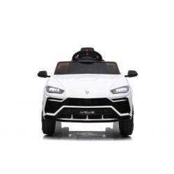 Elektrické autíčko Lamborghini Urus, 12V, 2,4 GHz dialkové ovládanie, USB / SD Vstup, odpruženie, otváravé dvere, mäkké EVA kolesá, 2 X MOTOR, Biele, ORIGINAL licencia