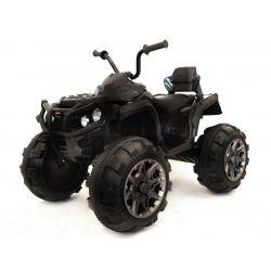 Elektrická štvorkolka HERO 12V, mäkké kolesá, 2,4 GHz DIALKOVÉ OVLÁDANIE, kožená sedanka, odpružené, 12V7Ah batéria