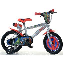 "DINO Bikes - Detský bicykel 14"" 414UAV2 - Avengers 2 2019"