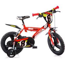 "DINO Bikes - Detský bicykel 14"" 143GLN - červený 2017"