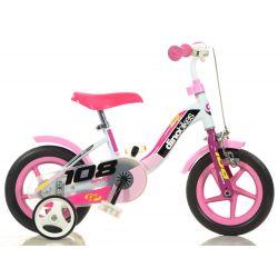 """DINO Bikes - Detský bicykel 10"""" 108FLG - Girl 2017"""