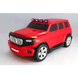 Detské Licencované odrážadlo a kufrík 2v1 Mercedes-Benz  Ener-G-Force červené
