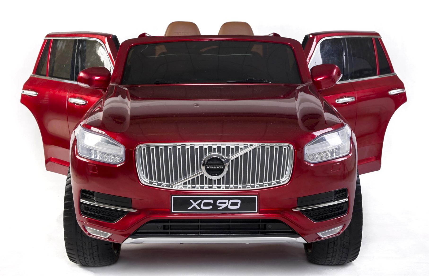Hľadáte autíčko pre dve deti vhodné aj do terénu? Elektrické autíčko Volvo XC90 Vám poskytne oveľa viac.